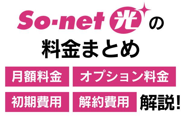 So-net光の料金
