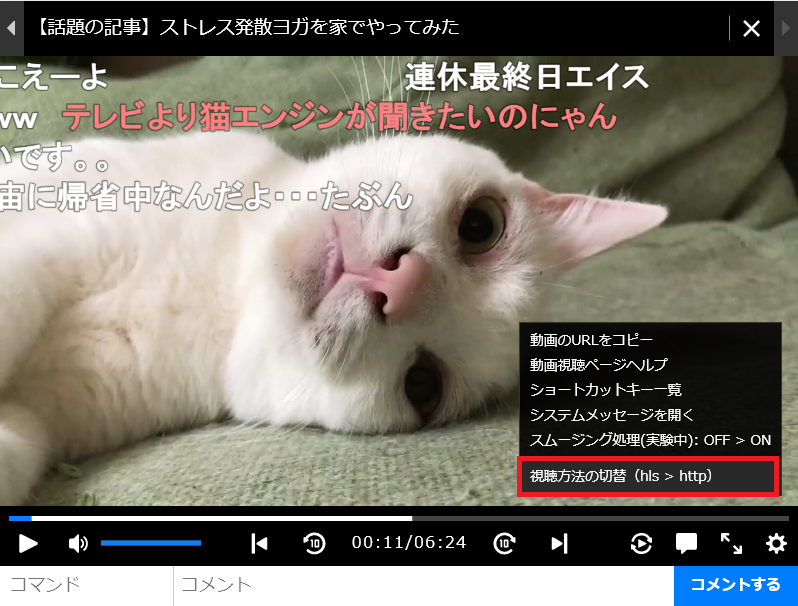 ニコニコ動画chrome1