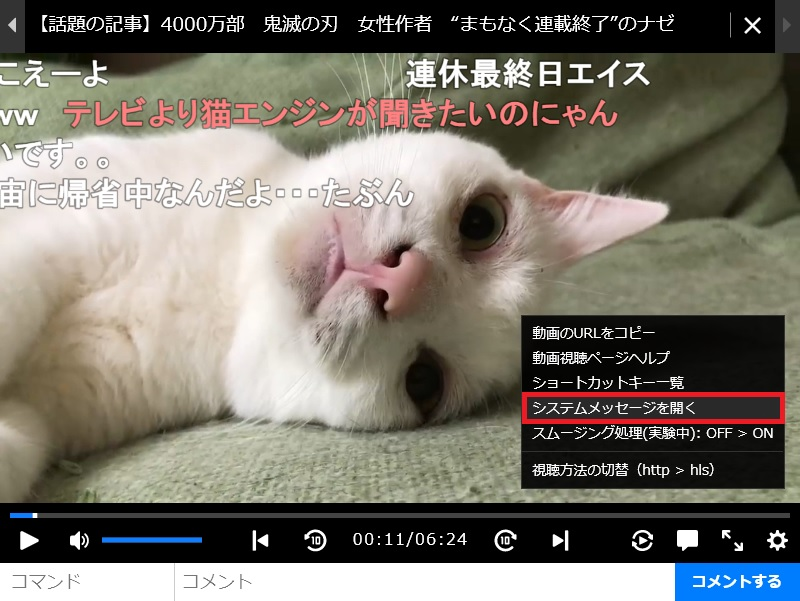 ニコニコ動画chrome2